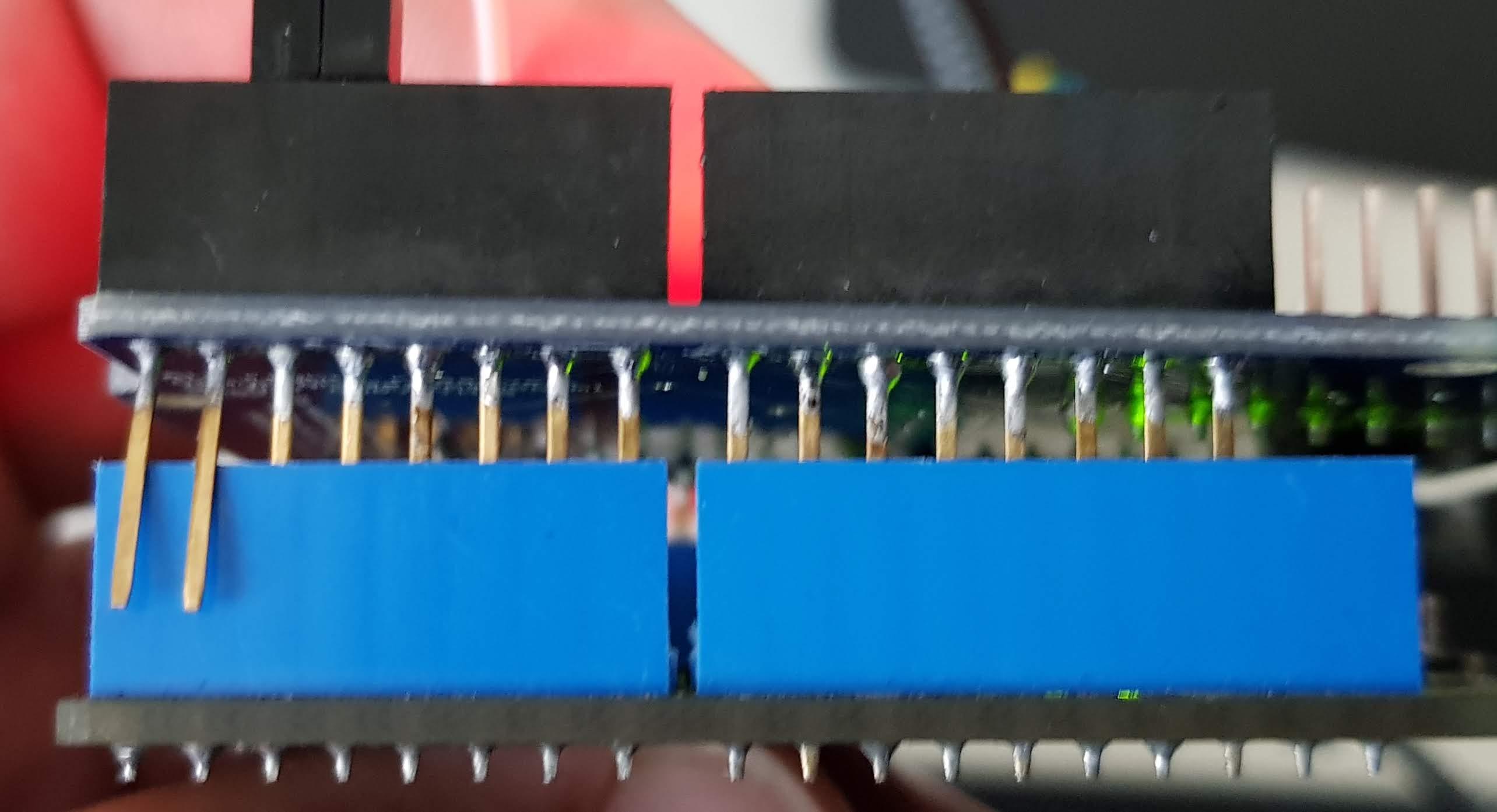 Gekappte RX/TX Verbindung