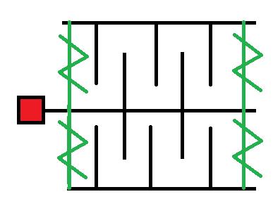 Prinzip Beschleunigungssensor